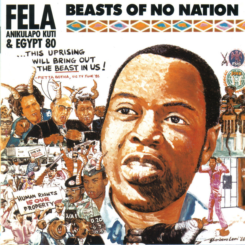 FELA KUTI - BEASTS OF NO NATION