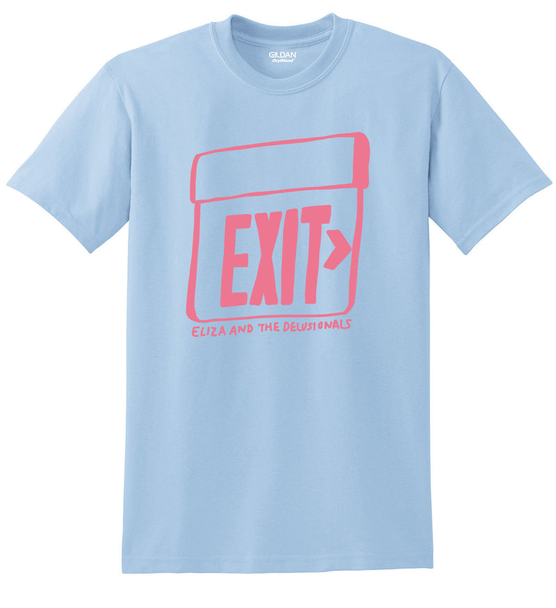 "ELIZA & THE DELUSIONALS ""EXIT"" T-SHIRT"