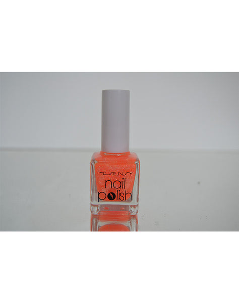 Selvlysende neglelak, orange 15 ml. Yesensys