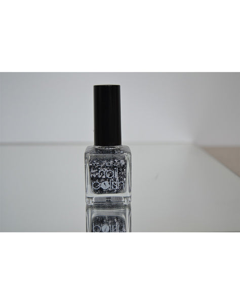 Neglelak snow effect , sort 15 ml.