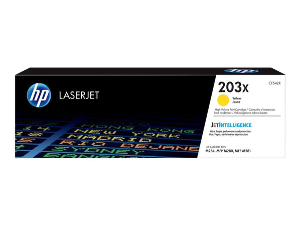 Lasertoner HP 203X yellow 2500 sider