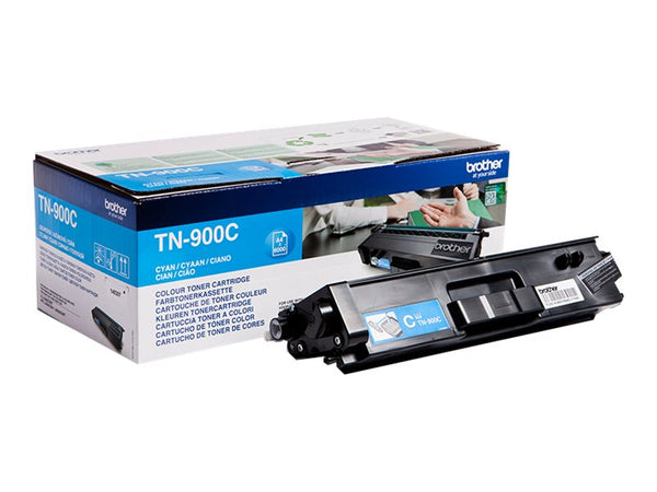 Brother TN 900C Cyan 6000 sider