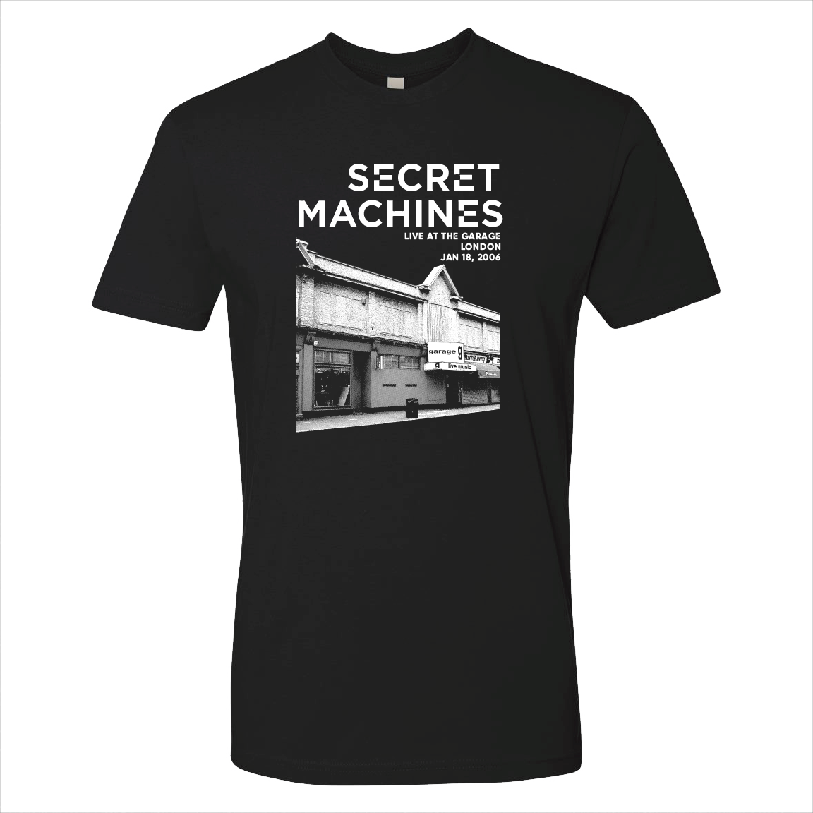 Live at the Garage T-shirt - SOLD OUT