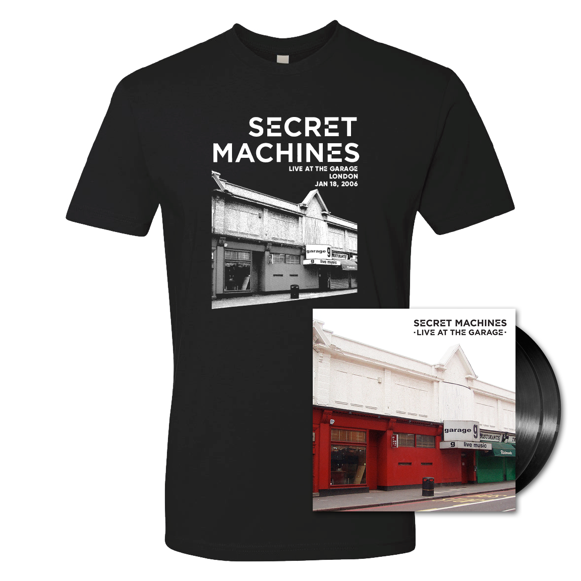 Vinyl + T-shirt Bundle - SOLD OUT