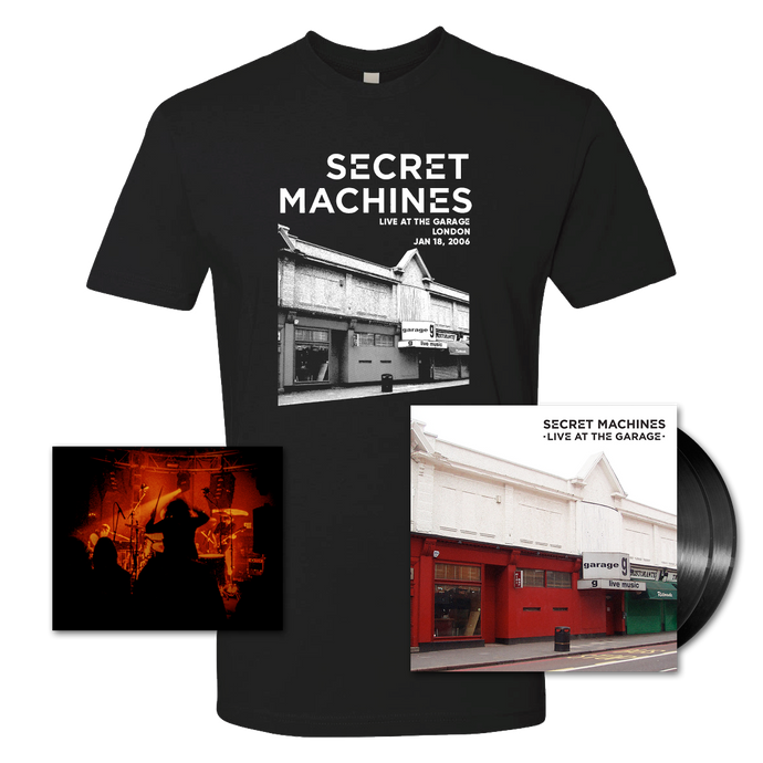 Vinyl + T-shirt + Limited Edition Signed Print Bundle - SOLD OUT
