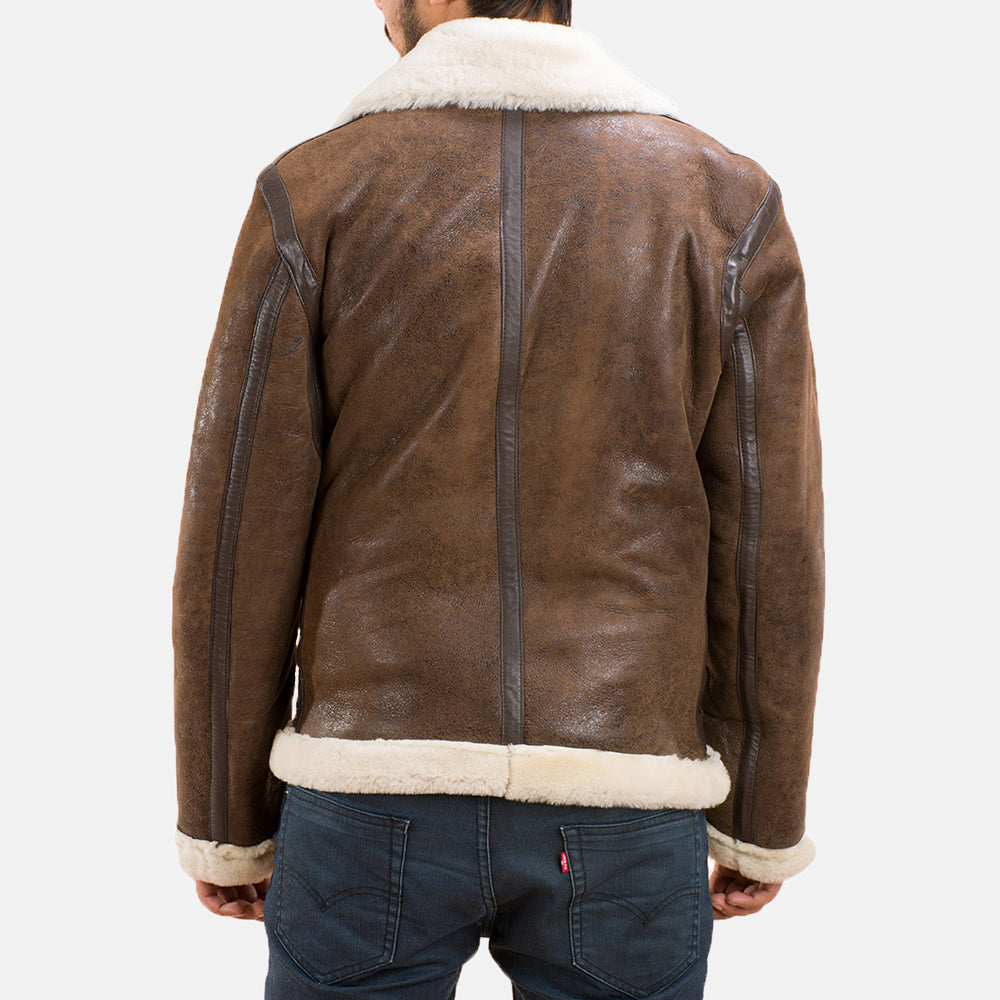Forest Double Face Shearling Jacket