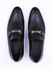 black leather shoes mens