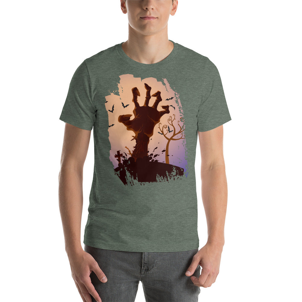 Nice Zombie Hand Design In Graveyard Scary Image Wildernes Cool Creative Fabulous Designs