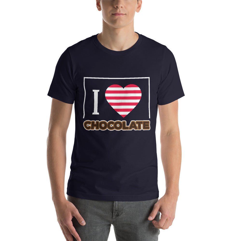 I Love Chocolate Beautiful Heart Awesome Colors Nice Theme Cool Art Creative Fabulous Designs
