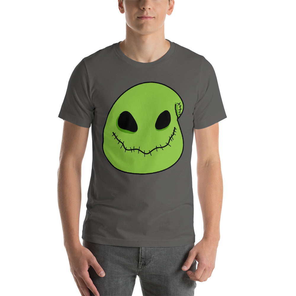Scary Creepy Nice Image Design Of Green Ghost Face  Art Cool Creative Fabulous Designs