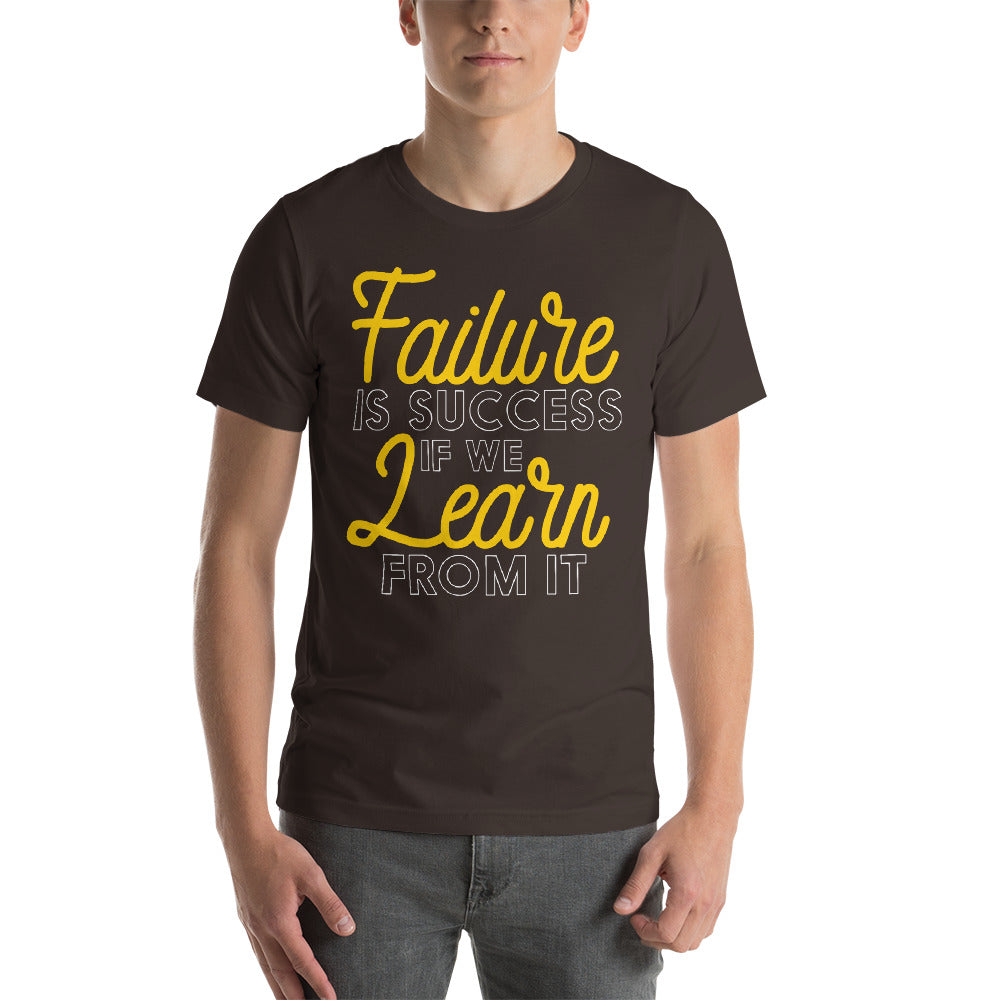 Failure Is Success If We Learn From It Typography Bright Color Design Cool Art Creative Fabulous Designs
