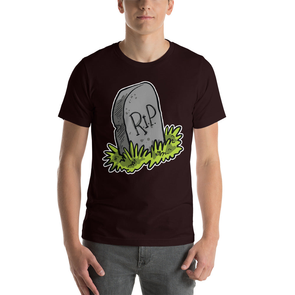 Nice Simple Design With Image Effect Of RIP Graveyard Nice Cool Creative Fabulous Designs