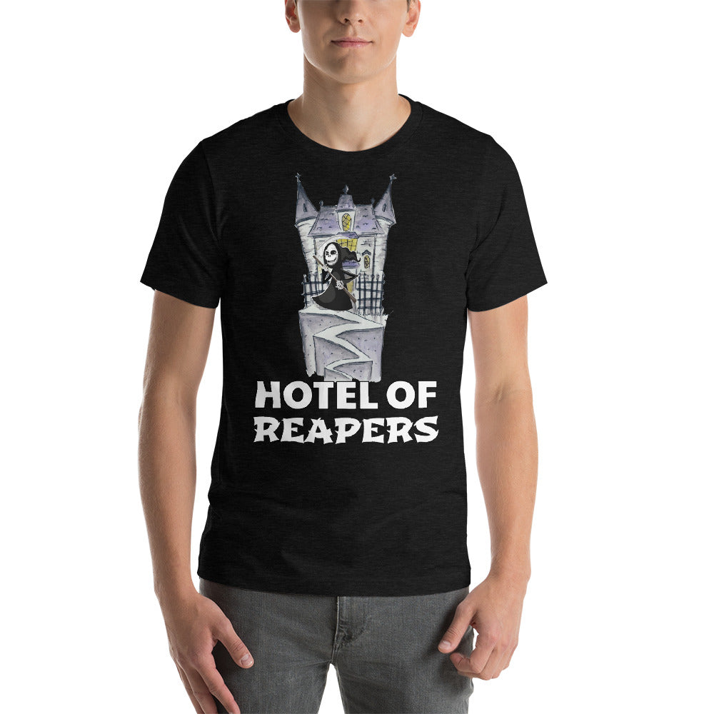 Hotel Of Reapers Awesome Creepy Design Of Castle With Witch In Front Cool Art Creative Fabulous Designs