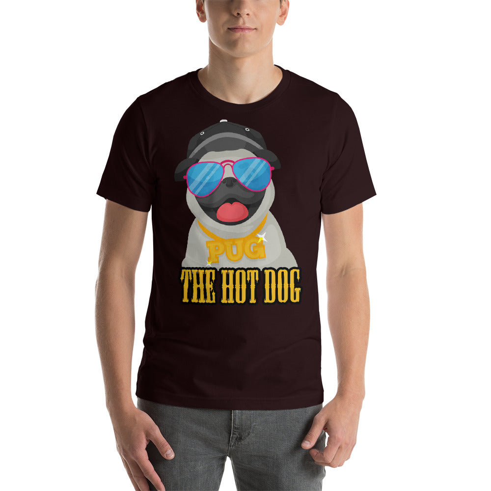 Pug The Hot Dog Very Cute Dog Cool Colors Sunnies Beanie Swag cool creative awesome fabulous design.