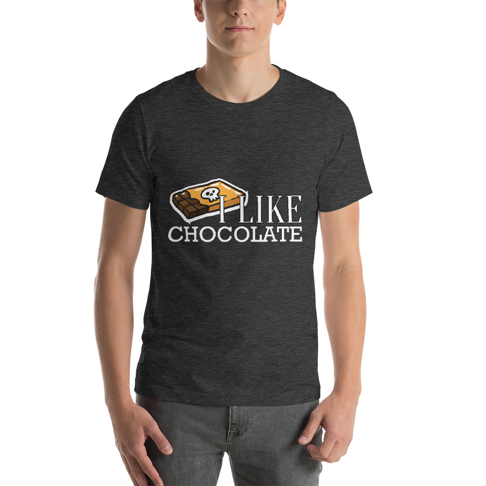 I Like Chocolate Ghost Chocolate Design For Choco Lovers Cool Art Creative Fabulous Designs