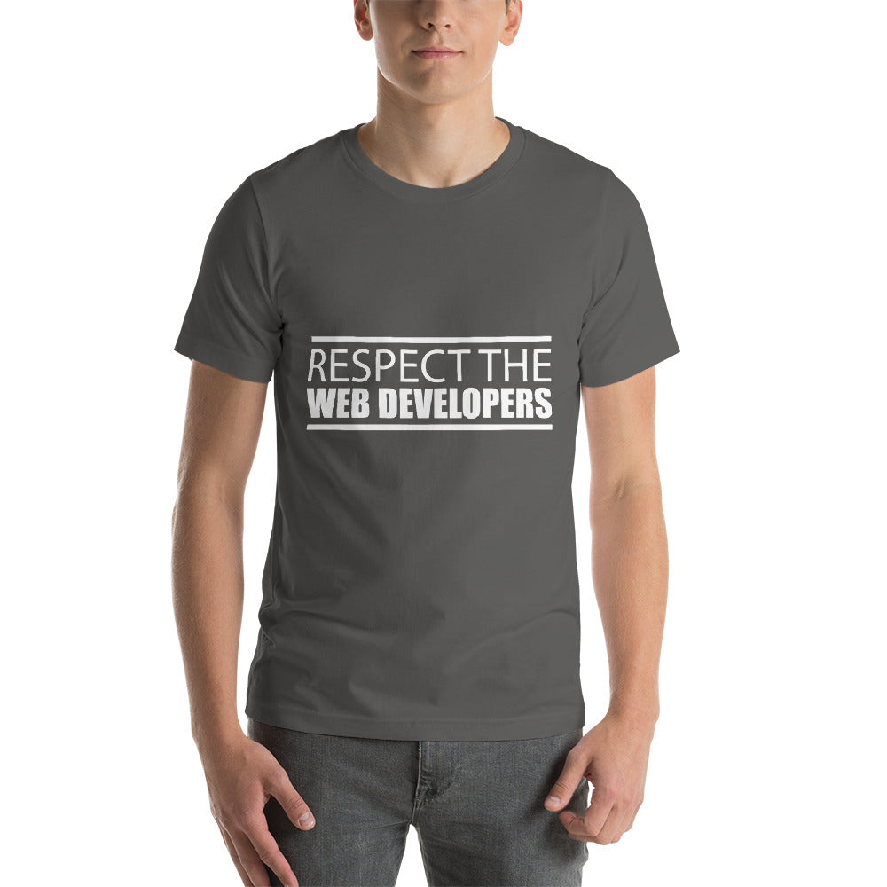 Respect The Web Developers Awesome Typography Beautiful Color Cool Art Creative Fabulous Designs