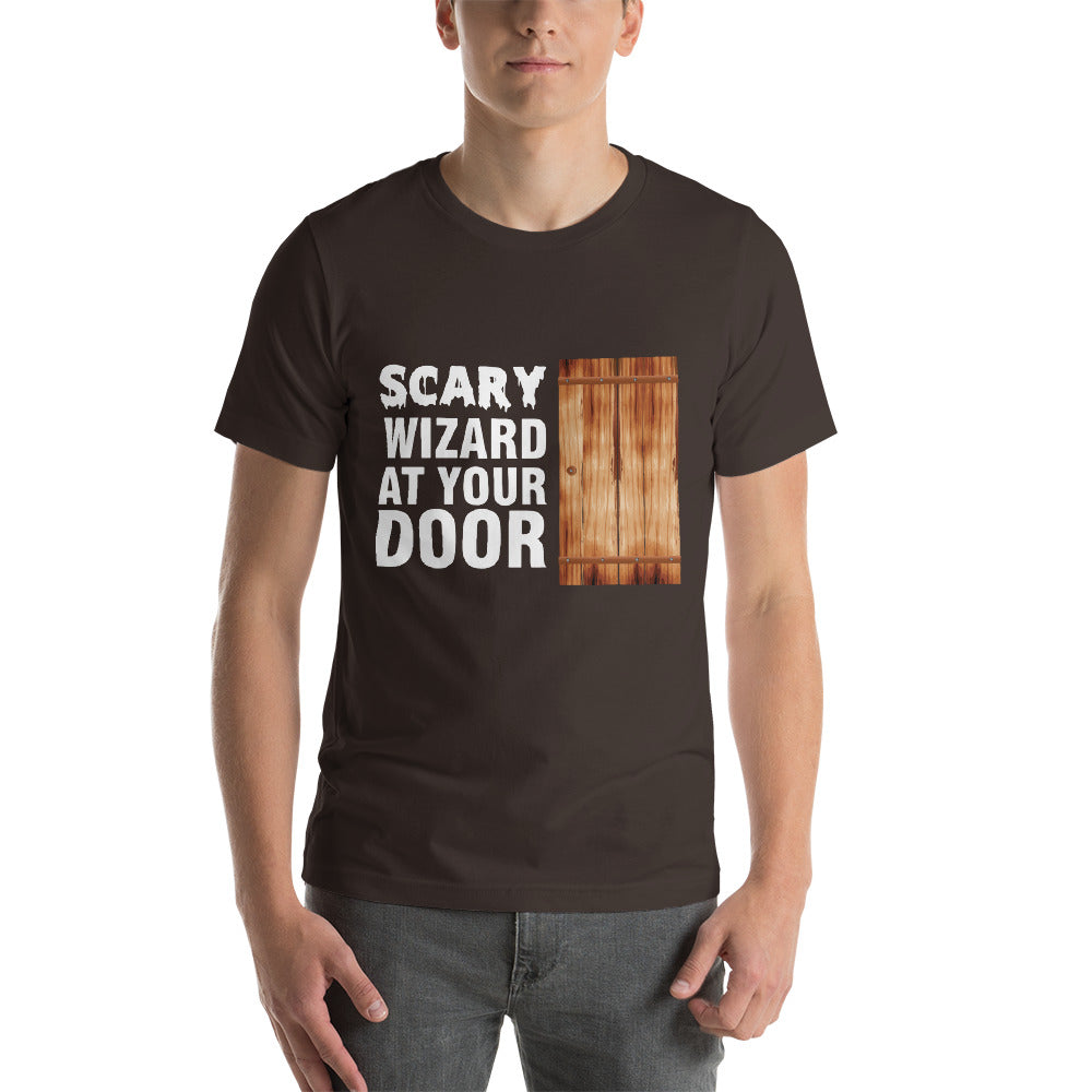 Scary Wizard At Your Door Beautiful Looking Door Awesome Design Cool Art Creative Fabulous Designs