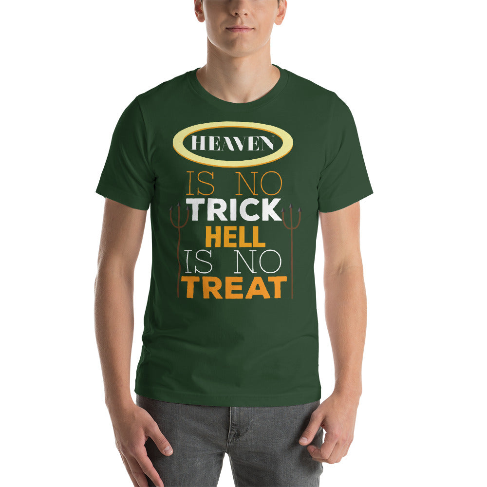 Heaven Is No Trick Hell Is No Treat Awesome Typography Cool Art Creative Fabulous Designs