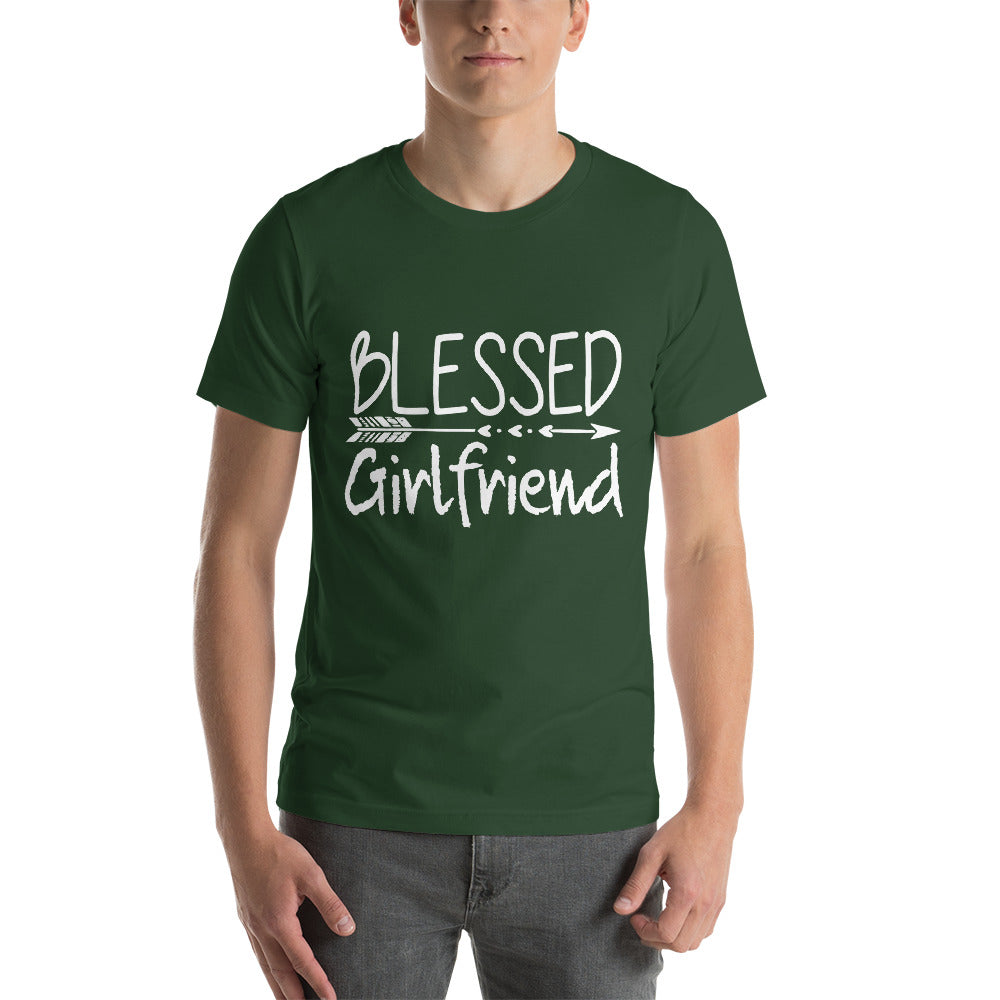 Blessed Girlfriend Love Her Straight Arrow Cool Theme Design Cool Art Creative Fabulous Designs
