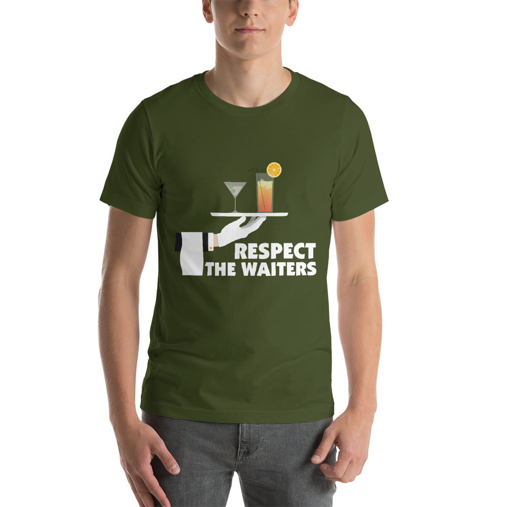 Respect The Waiters Amazing Design Beautiful Color Cool Art Creative Fabulous Designs