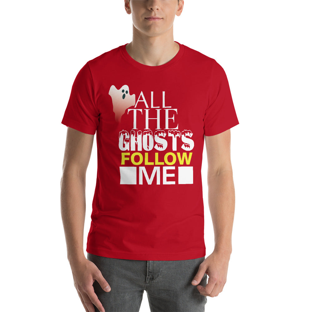 All The Ghost Follow Me Awesome Typography Scary Ghost Theme  Cool Art Creative Fabulous Designs