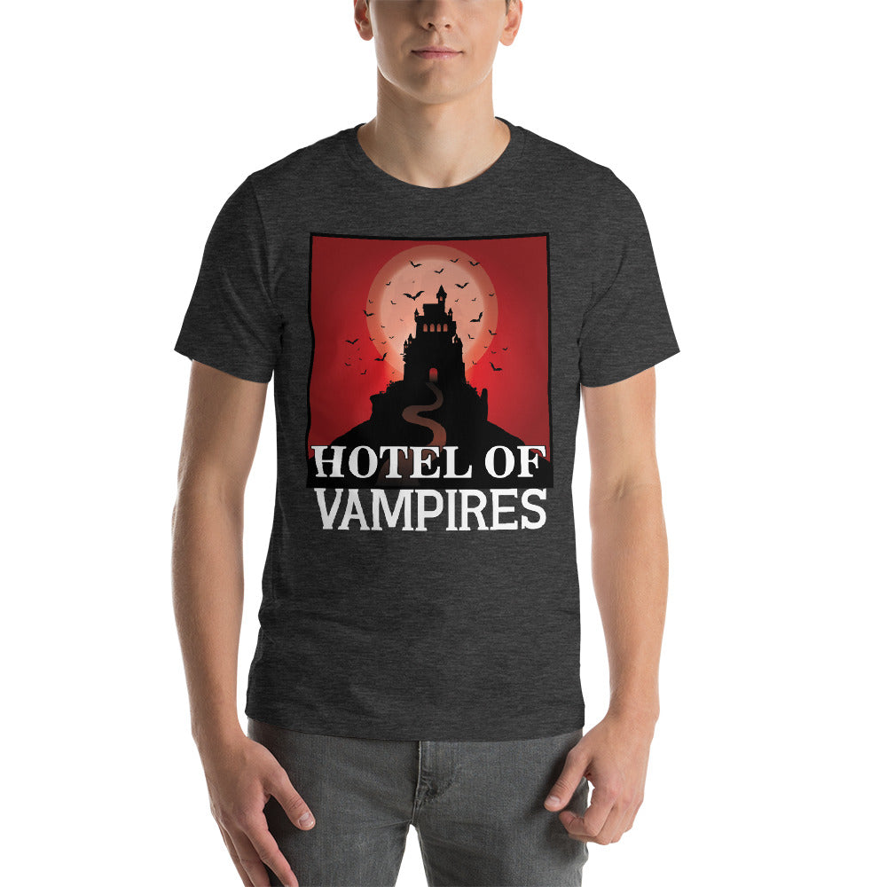 Hotel Of Vampires Scary Red Blood Like Theme Awesome Design Cool Art Creative Fabulous Designs