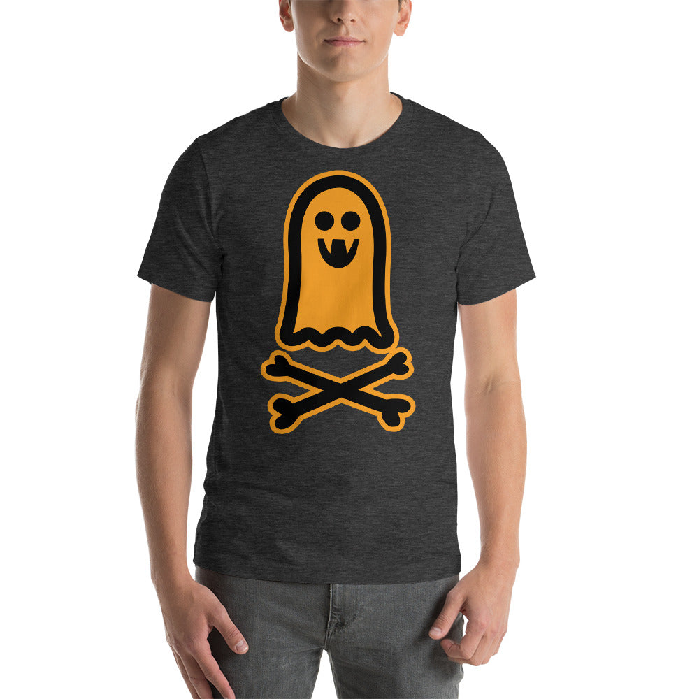 Interesting Looking Ghost Image Design With Bones For Scary Effect Cool Creative Fabulous Designs