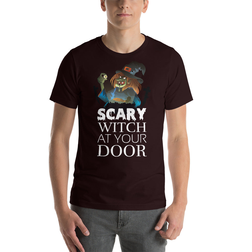 Scary Witch At Your Door Scary Witch Design Cool Art Creative Fabulous Designs