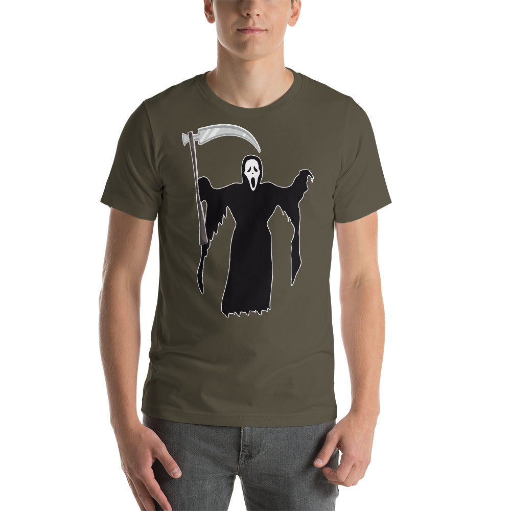 Scary Looking Grim Reaper Design Black Color To Enhance Image Cool Creative Fabulous Designs