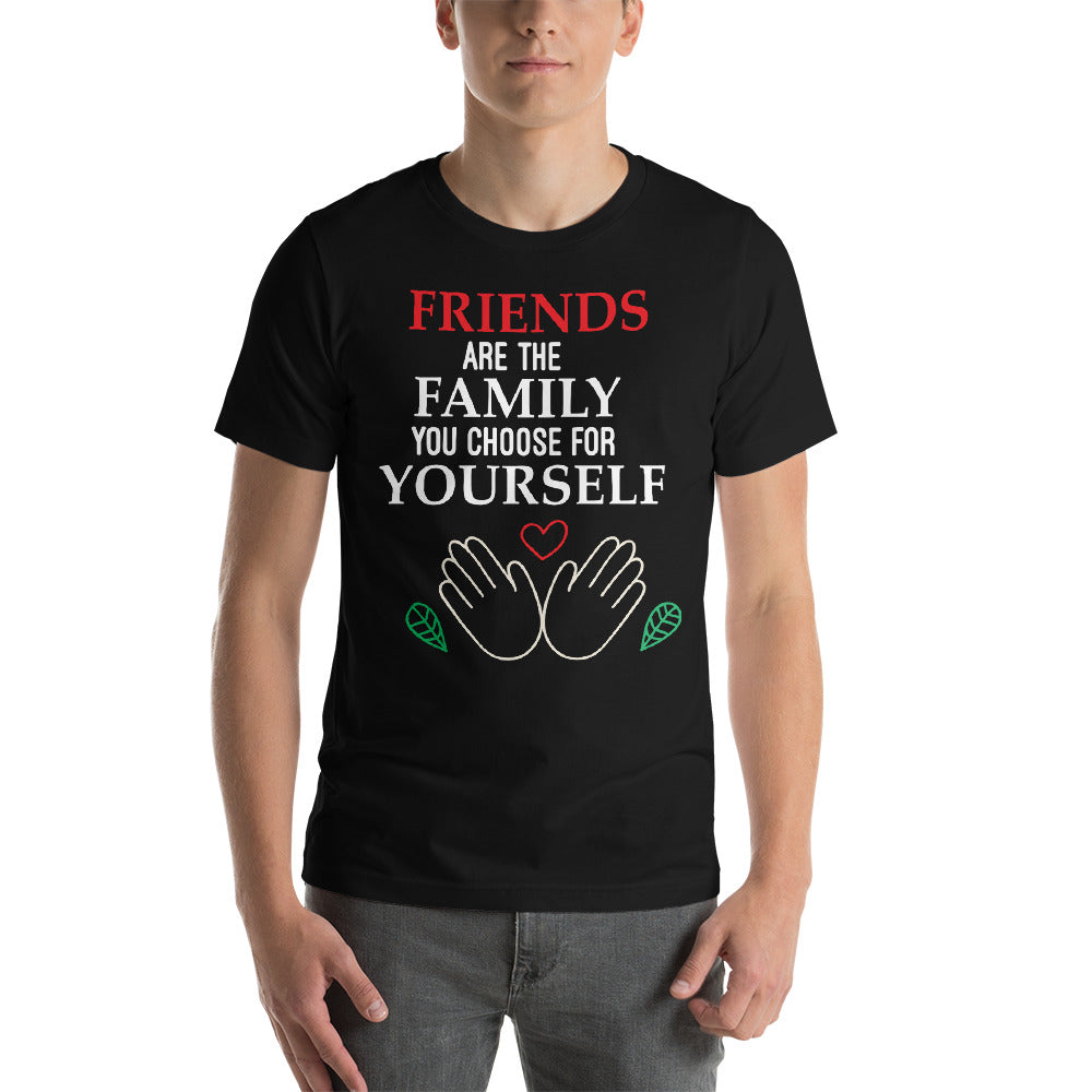 Friends Are The Family You Chooes For Yourself Typography Cool Idea Creative Fabulous Designs