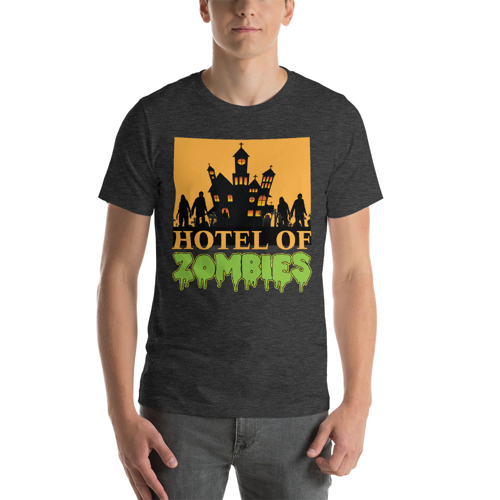 Hotel Of Zombies Multiple Zombies Scary Theme Design Cool Art Creative Fabulous Designs