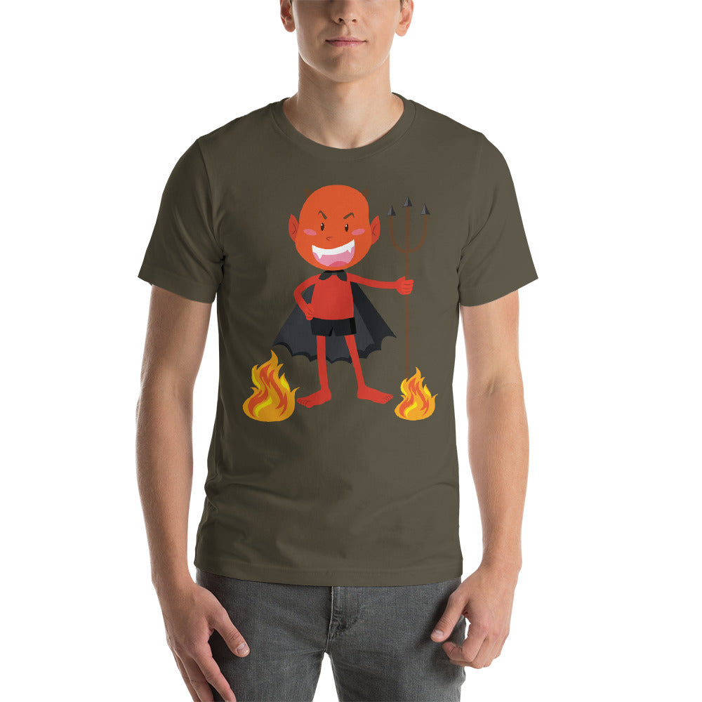 Happy Devil Red Theme Flames Awesome Design Cool Art Creative Fabulous Designs