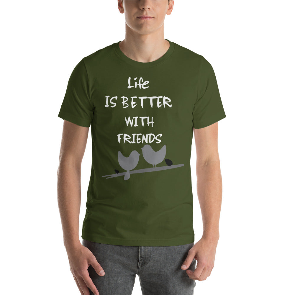 LIfe Is Better With Friends Happy Time Friends Time Lovely Birds Cool Idea Creative Fabulous Designs