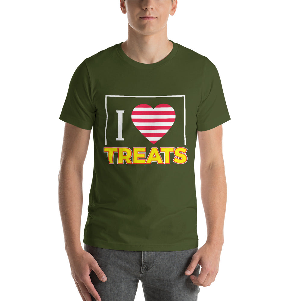 I Love Treats Everyone Likes It Nice Design For Treats Cool Art Creative Fabulous Designs