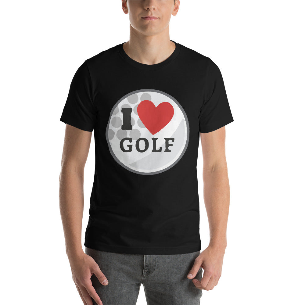 I Love Golf My Hobby My Passion Love This Sport Cool Idea Creative Fabulous Designs