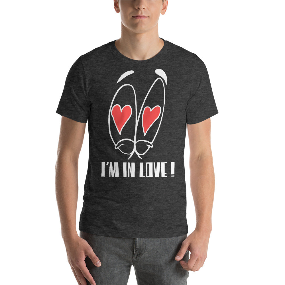 I Am In Love Big Eyes Heart Blinking In The Eyes Cool Idea Creative Fabulous Designs