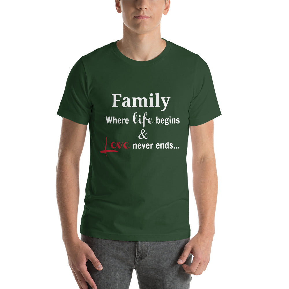 Family Where Life Begins And Never Ends Happy Time Family Time Cool Idea Creative Fabulous Designs