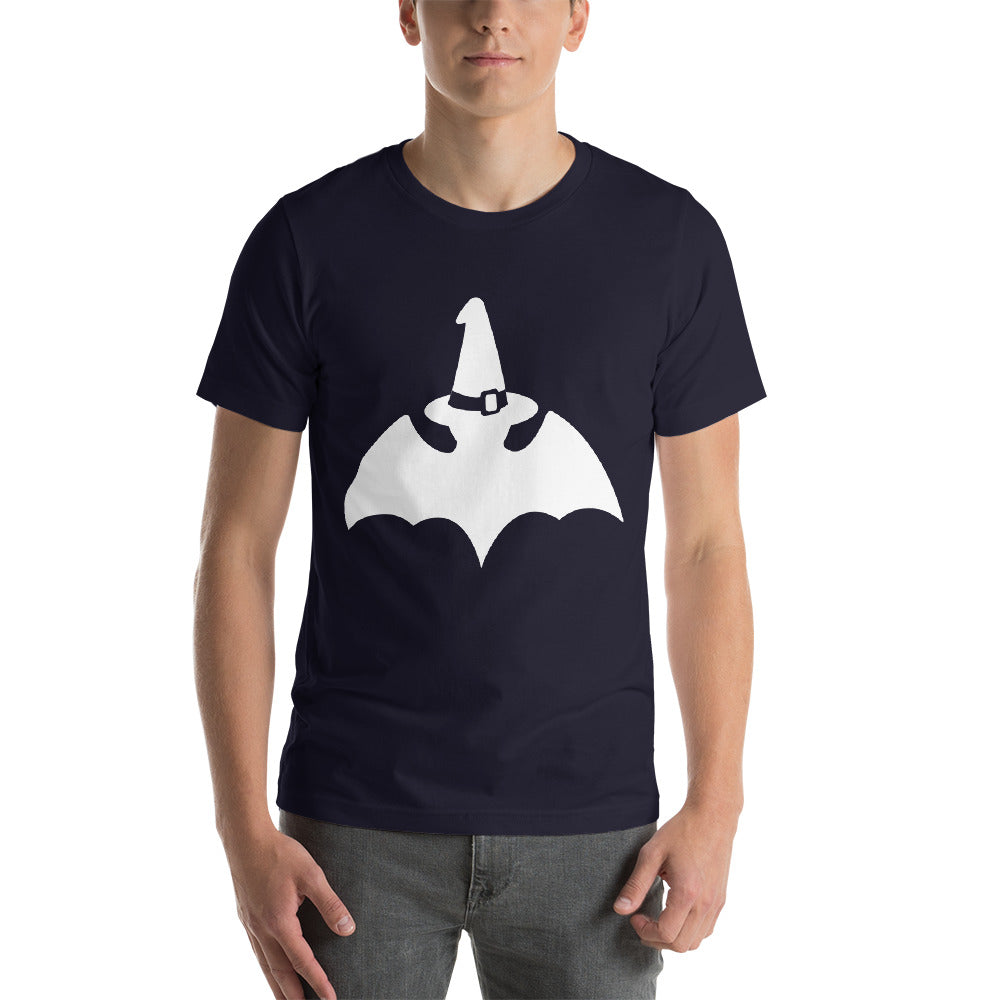 Funny Design Bat Wearing A Witch Hat Plain Design Theme Cool Creative Fabulous Designs