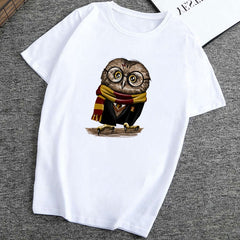 Women T Shirt Madrids Fashion Cute Owl  Tee Shirt