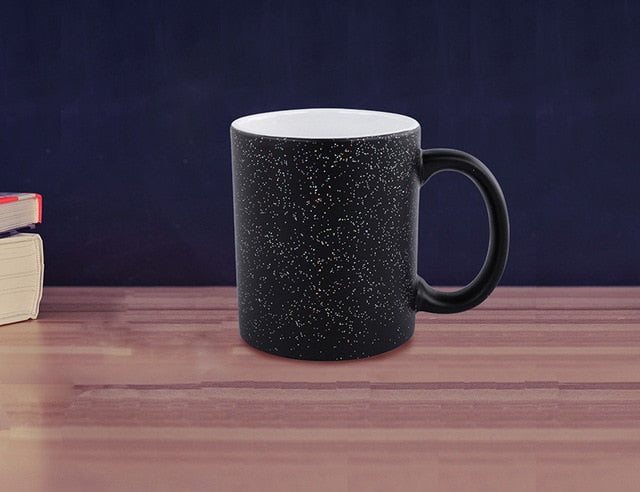 Color Changing magic mug gift for friends