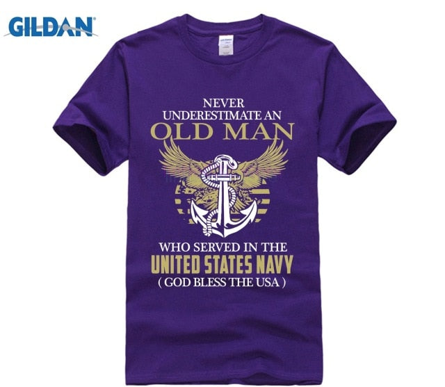 NEVER UNDERESTIMATE AN old navy mens tees