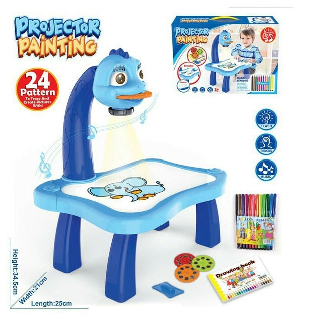 Kids Toy Painting Drawing Table
