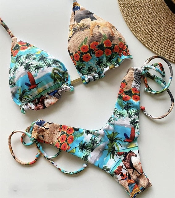 2020 Popular Womens Beachwear Sexy Bikini