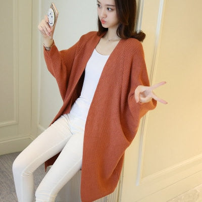 2020 Long Cardigan Women Sweater
