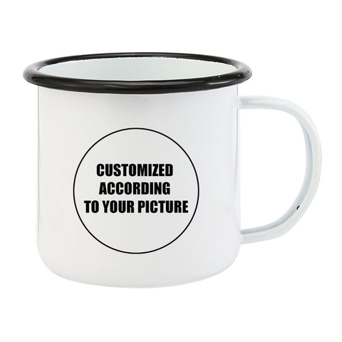 Custom plain white coffee mugs