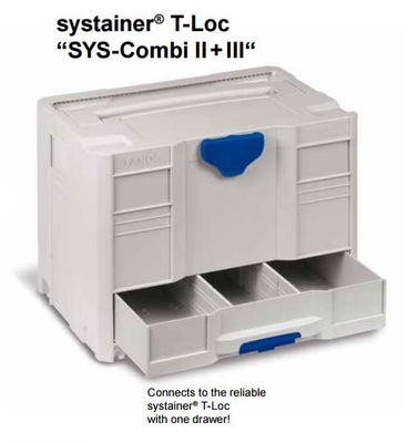 systainer® T-Loc SYS-Combi III