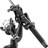 RAM-ROD™ 2000 Fishing Rod Holder with RAM-ROD Revolution Ratchet/Socket System and Round Flat Surface Base