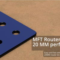 MFT Router Template MK2 tidigare Dominofix MFT JIG
