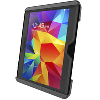"RAM Tab-Tite Cradle for 10"" Tablets incl. Samsung Galaxy Tab 4 10.1 and Tab S 10.5 with Otterbox Defender Case"