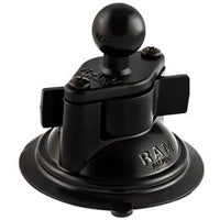 "RAM 3.25"" Diameter Suction Cup Twist Lock Base with 1"" Ball"